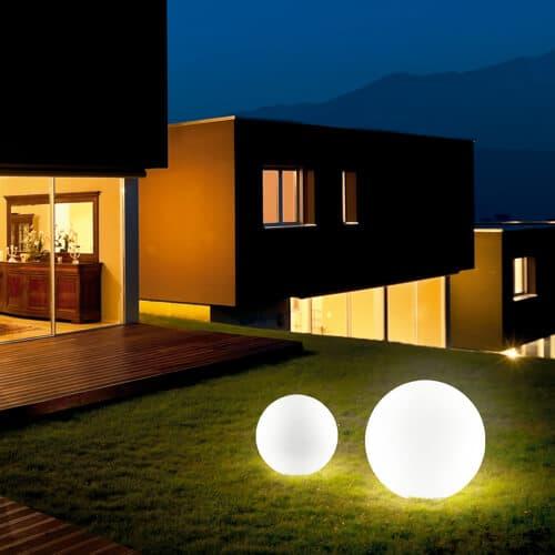 Luces para estancias exteriores en pontevedra for Iluminacion para exteriores